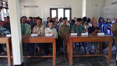 Dalam Memperingati Isro' Mi'roj Nabi Muhammad SAW, Pemerintah dan Warga Masyarakat Desa Wonoyoso Mengadakan Sedekah Bumi ( Sadranan )