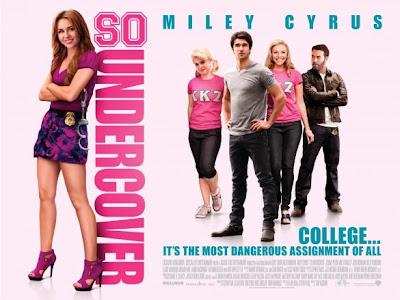 Demasiado encubierta - Una estúpida película protagonizada por Miley Cyrus, una cantante no tan buena que desesperadamente intenta hacerse actriz ...
