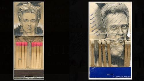 00-Jason-D-Aquino-Miniature-Vintage-Match-Book-Drawings-www-designstack-co