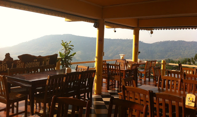 Restaurant of Khao Kho Tala Mok Resort in Khao Kho, Thailand