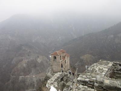 Fortaleza Asenova e iglesia Santa María de Petrich, Bulgaria