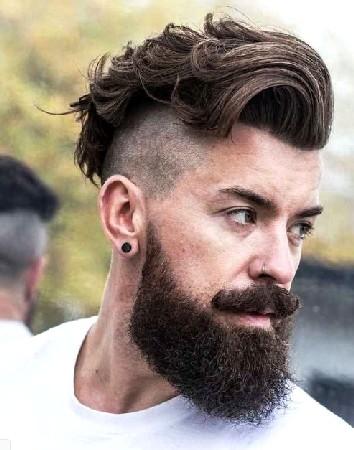 model rambut keriting pria 2018