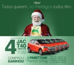 Promoção Shopping Interlagos Natal 2017 Carros Zero Compre Ganhe Panetone