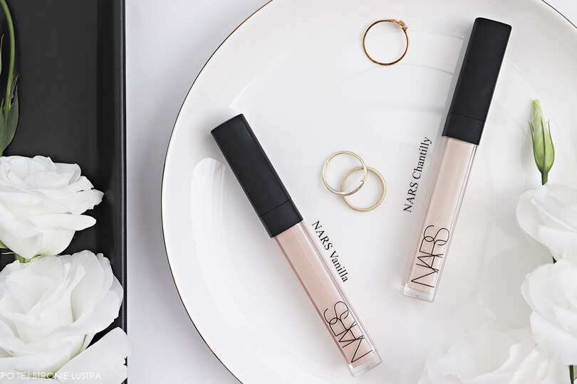 NARS radiant creamy concealer Vanilla vs Chantilly