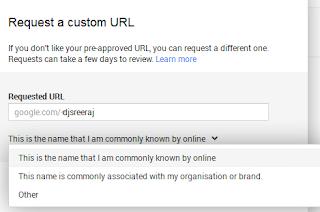 Get Custom Google Plus Profile URL or Link