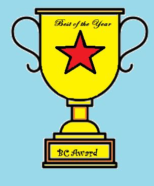 df31bd1c3aac Welcome to the BC Awards!!! Carole and I will be sharing some of our  favorites of the year! We decided to shake it up a bit with some extra  categories!