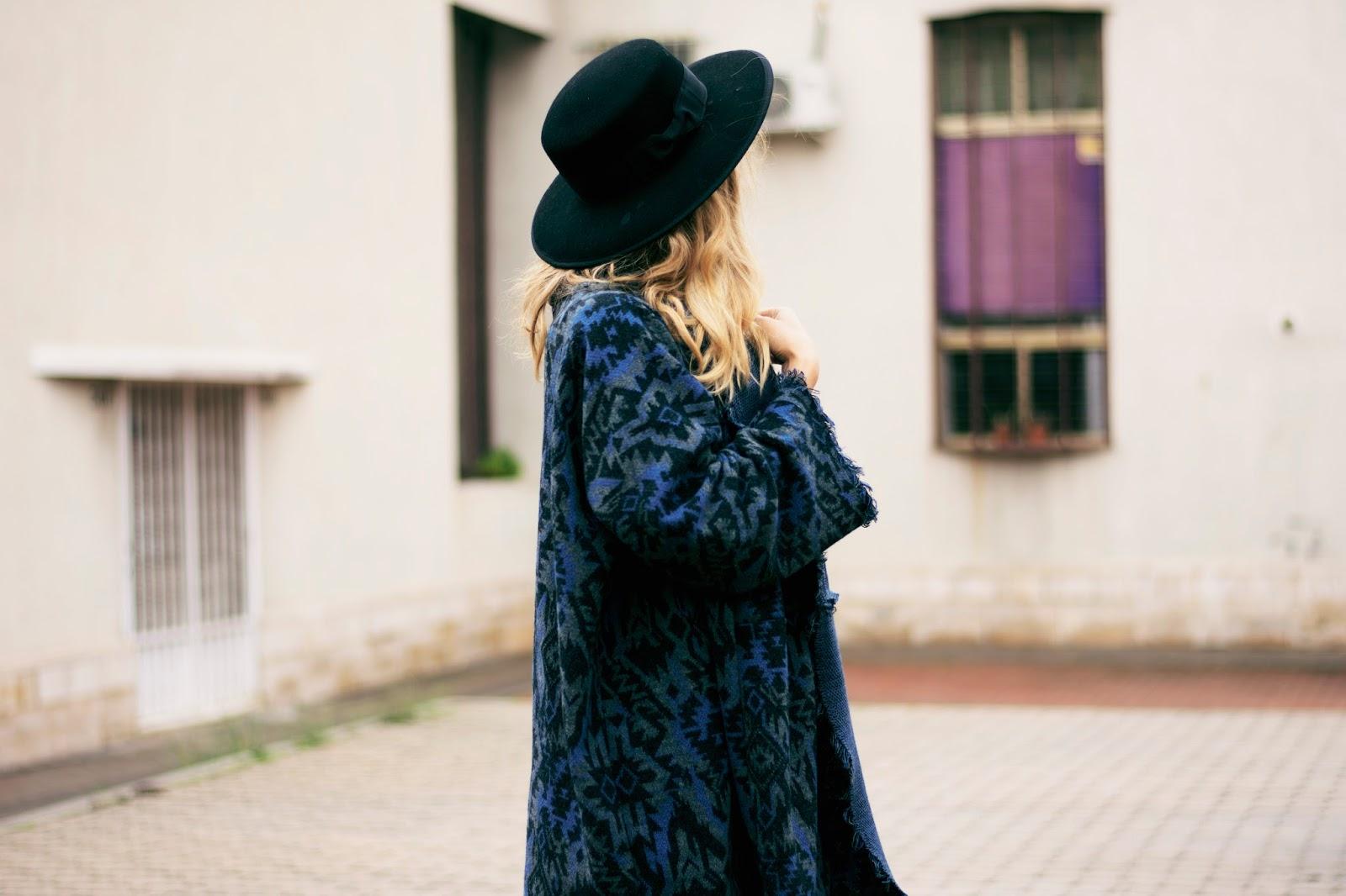 poncho lana comprar