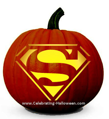 http://www.celebrating-halloween.com/pumpkincarving/superman-pumpkin-carving-stencil.shtml