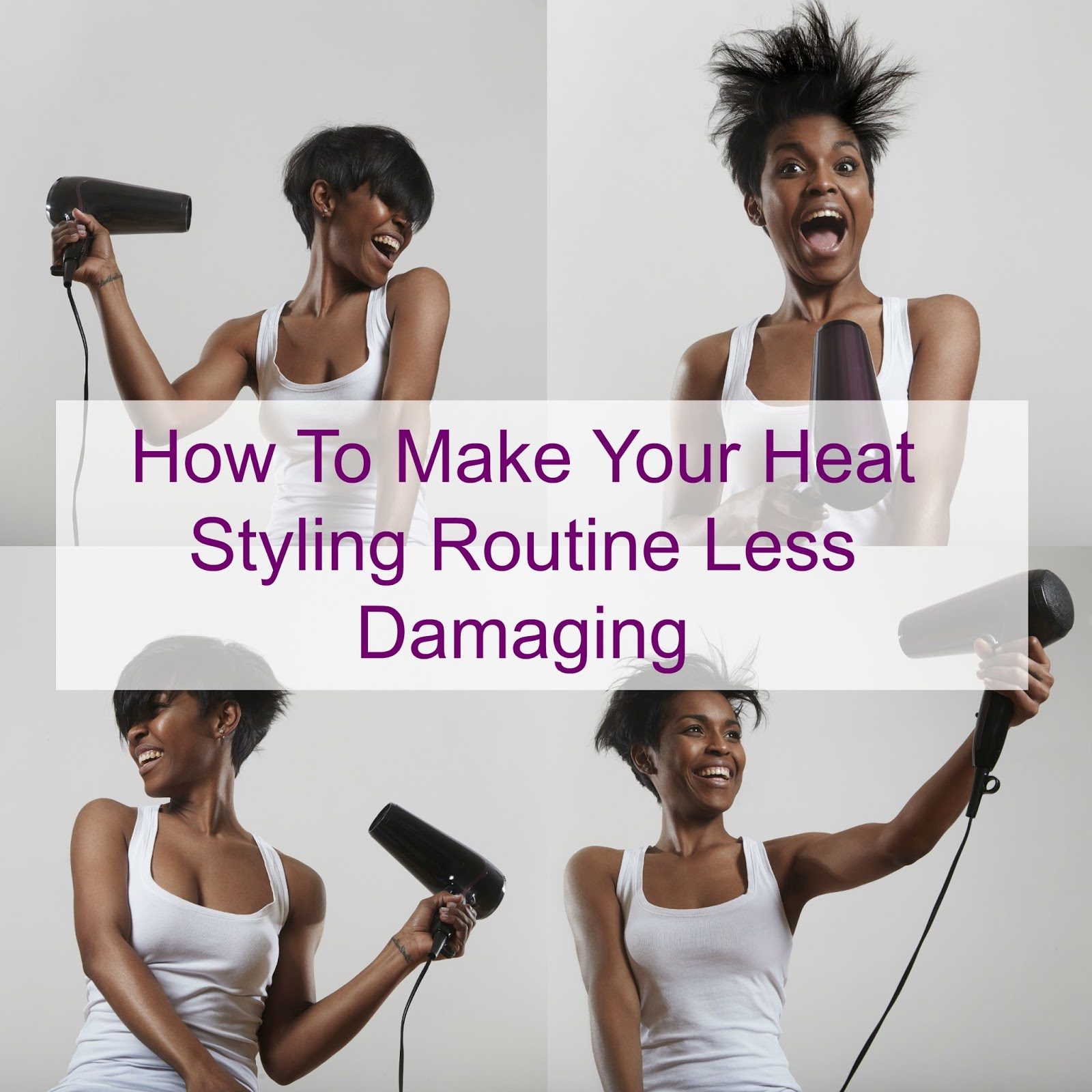 How To Make Your Heat Styling Routine Less Damaging