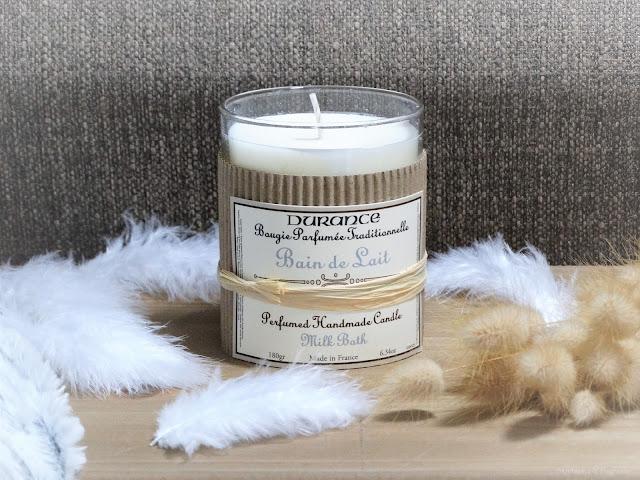 Avis Bain de Lait de Durance - Blog Bougie - Blog Parfum
