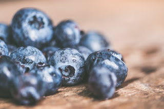 eat blueberry to increase memory power