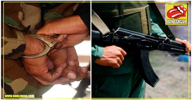 Teniente de la Aviación capturado por vender su arma de reglamento para poder emigrar