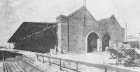 1900 - Galpón Nº10 fue primitiva estación de pasajeros.