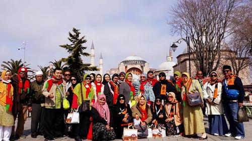 Komunitas Spiritual Finance di Museum Hagia Sophia, Turki