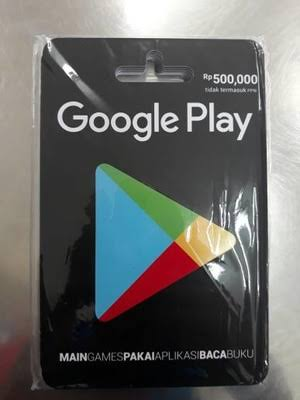 Cara Mengisi Saldo Google PlayStore