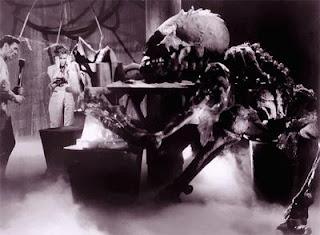 Terror en el espacio 1964, anticipando el moderno cine de terror y ciencia ficción
