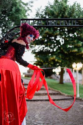 artisti trampolieri matrimonio rom
