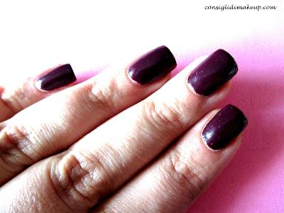 nail art anni 60 pois