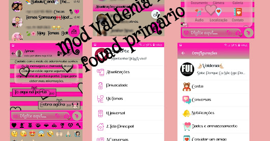 Fouad Whatsapp v7.50 Latest Piink Girls Mods With ew Icon Edition Version By Valdenia Download Now
