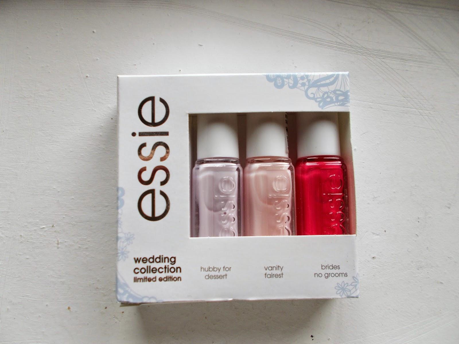 """<img src=""""essie.jpg"""" alt=""""essie wedding trio hubby for dessert vanity fairest brides no grooms"""">"""