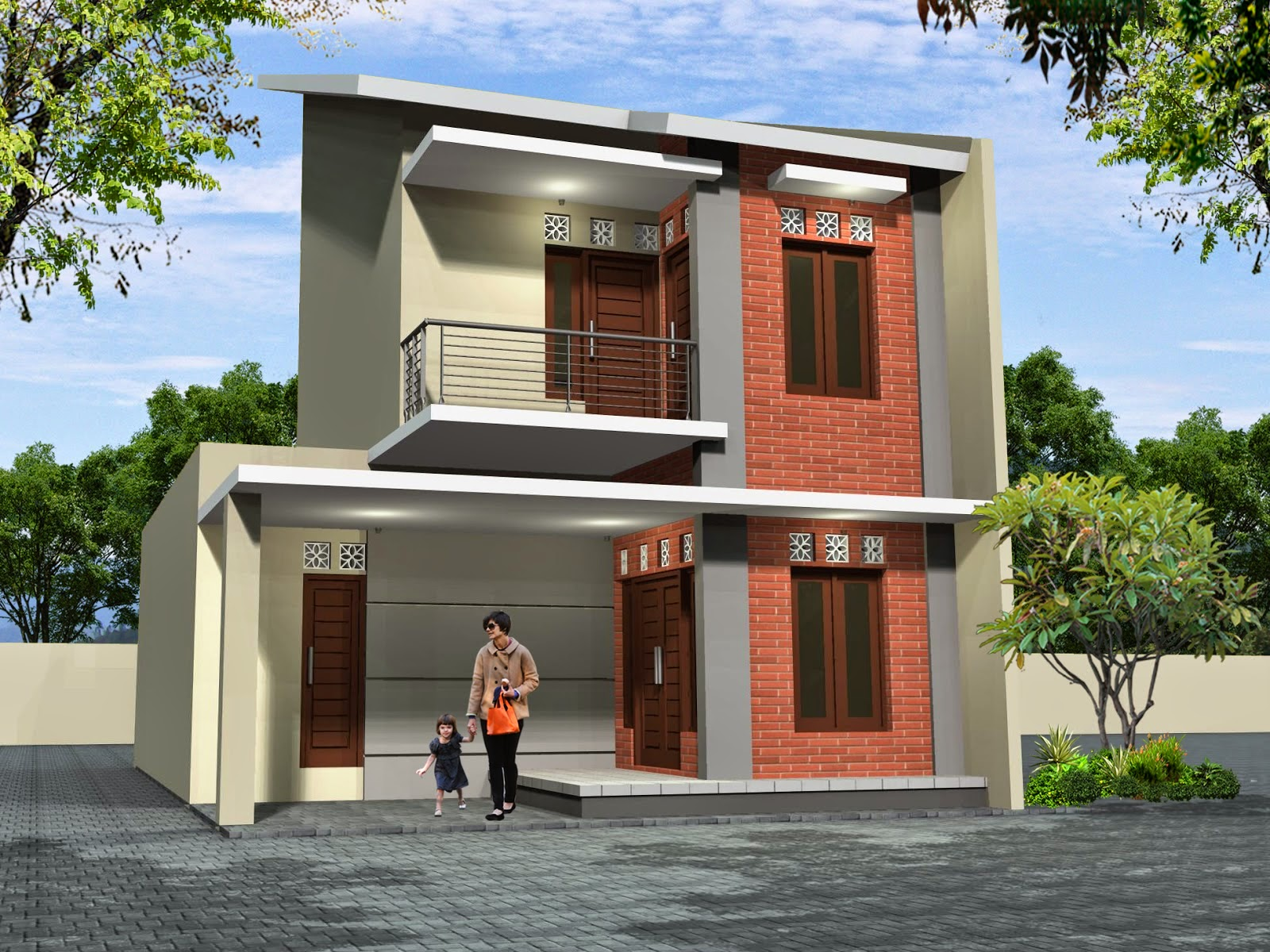 Desain Rumah Minimalis Type 60 2016 Musail 84