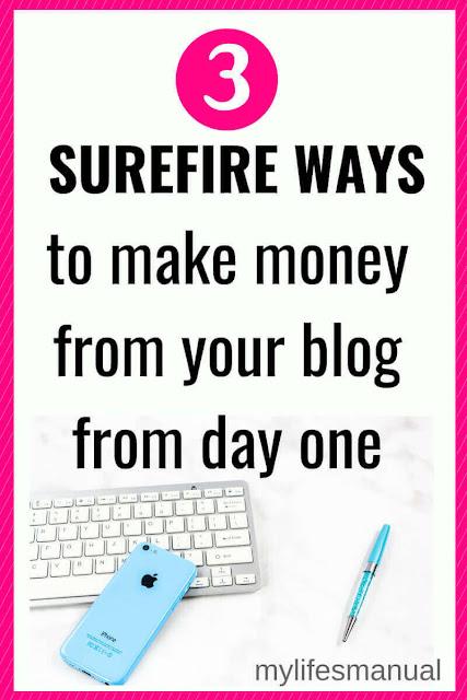 Blog tips. Make money blogging.