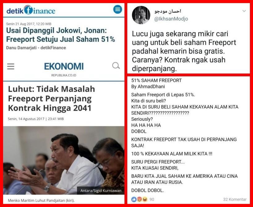 Indonesia Resmi Kuasai 51% Saham Freeport, dari Mana Uang untuk Membeli Saham Tersebut?