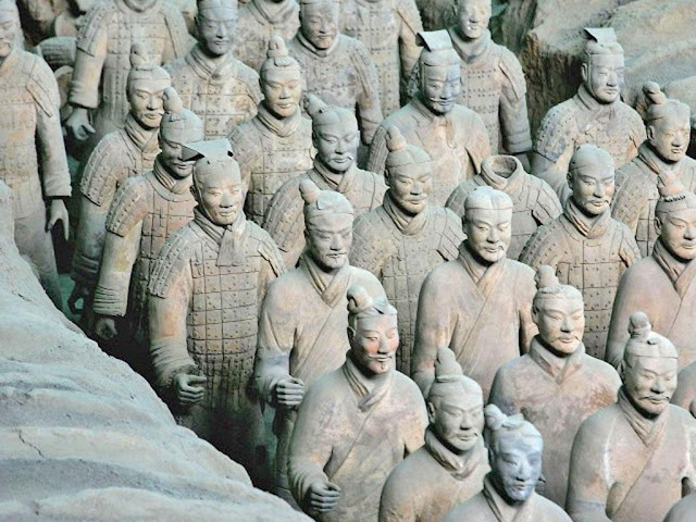 Ancient Greek sculpture inspiration for China's Terracotta Warriors, researchers say
