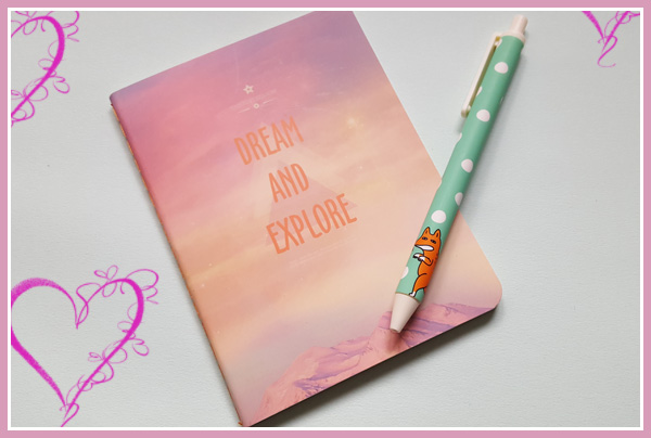 Dream & explore notepads