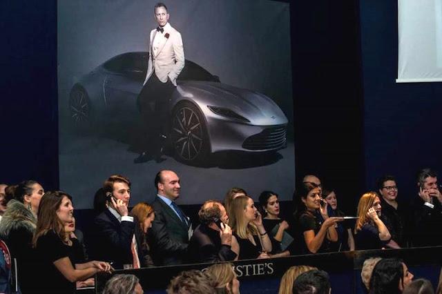 009スペクターの最新ボンドカー「アストンマーチンDB10」が約4億円で落札!