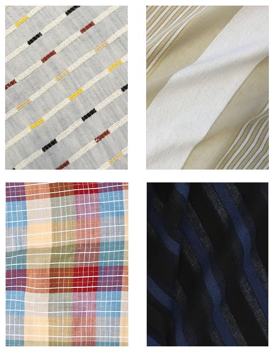Ace & Jig Drop 4 Textiles: Ivy, Solstice, Madras, Lunar