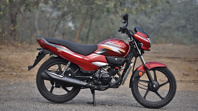 2018 Hero Super Splendor red pics