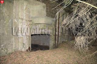Амбразура в первом кайзеровском бункере