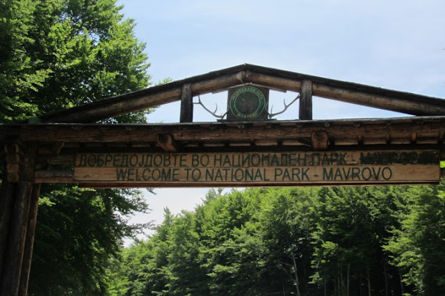 Macedonië Nationaal Park Marvrovo
