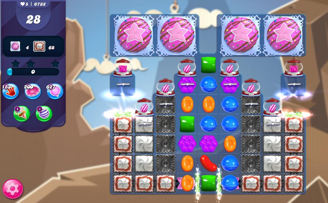 Candy Crush Saga level 6732