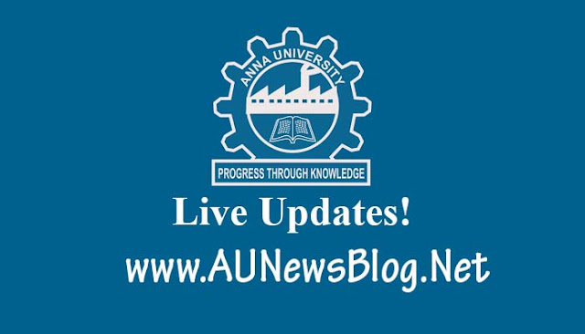 Anna University UG PG Exams Nov 18, 19 2016 Exams postponed (Due to Election)