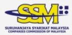 (SSM) Suruhanjaya Syarikat Malaysia