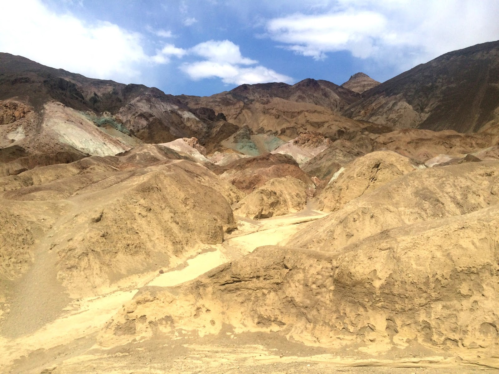 Death Valley National Park - Artist's Palette