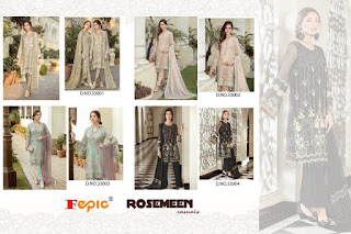 Fepic Rosemeen Casuals Pakistani Suits wholesale price