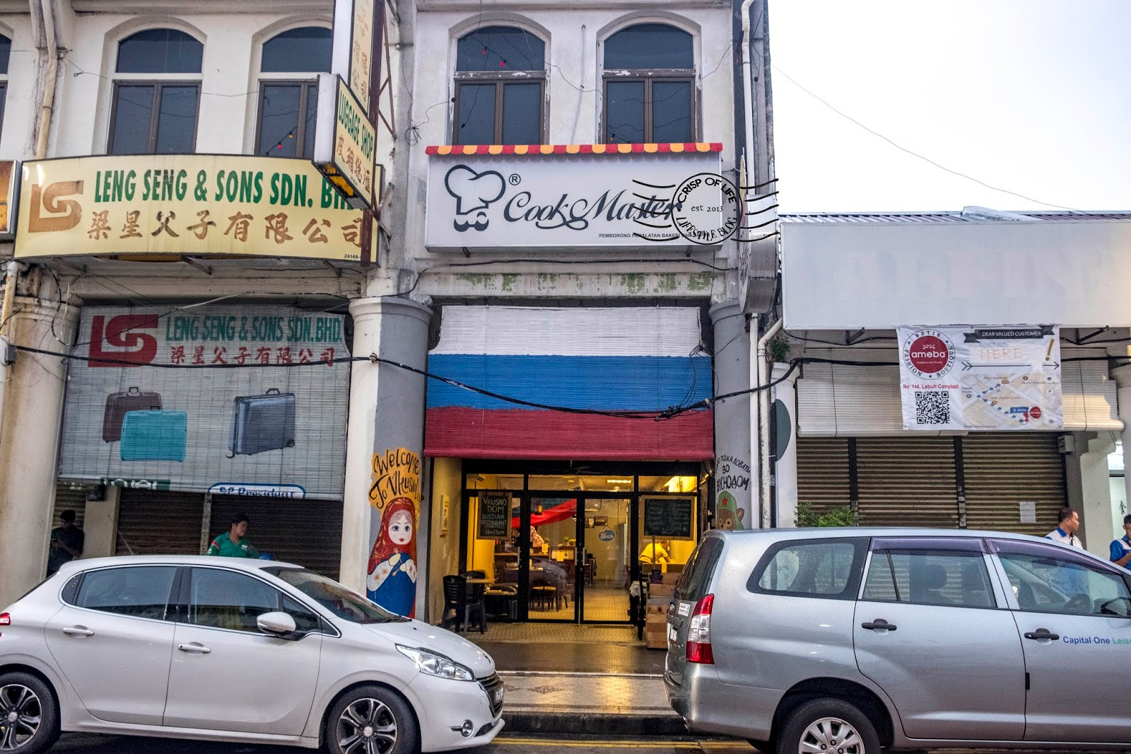 Vkusno Dom, The Authentic Eastern European Cuisine (Russian) @ Lebuh Campbell, Georgetown Penang