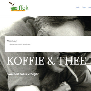 De lekerste koffie bestel je uit de webwinkel van Eiffok