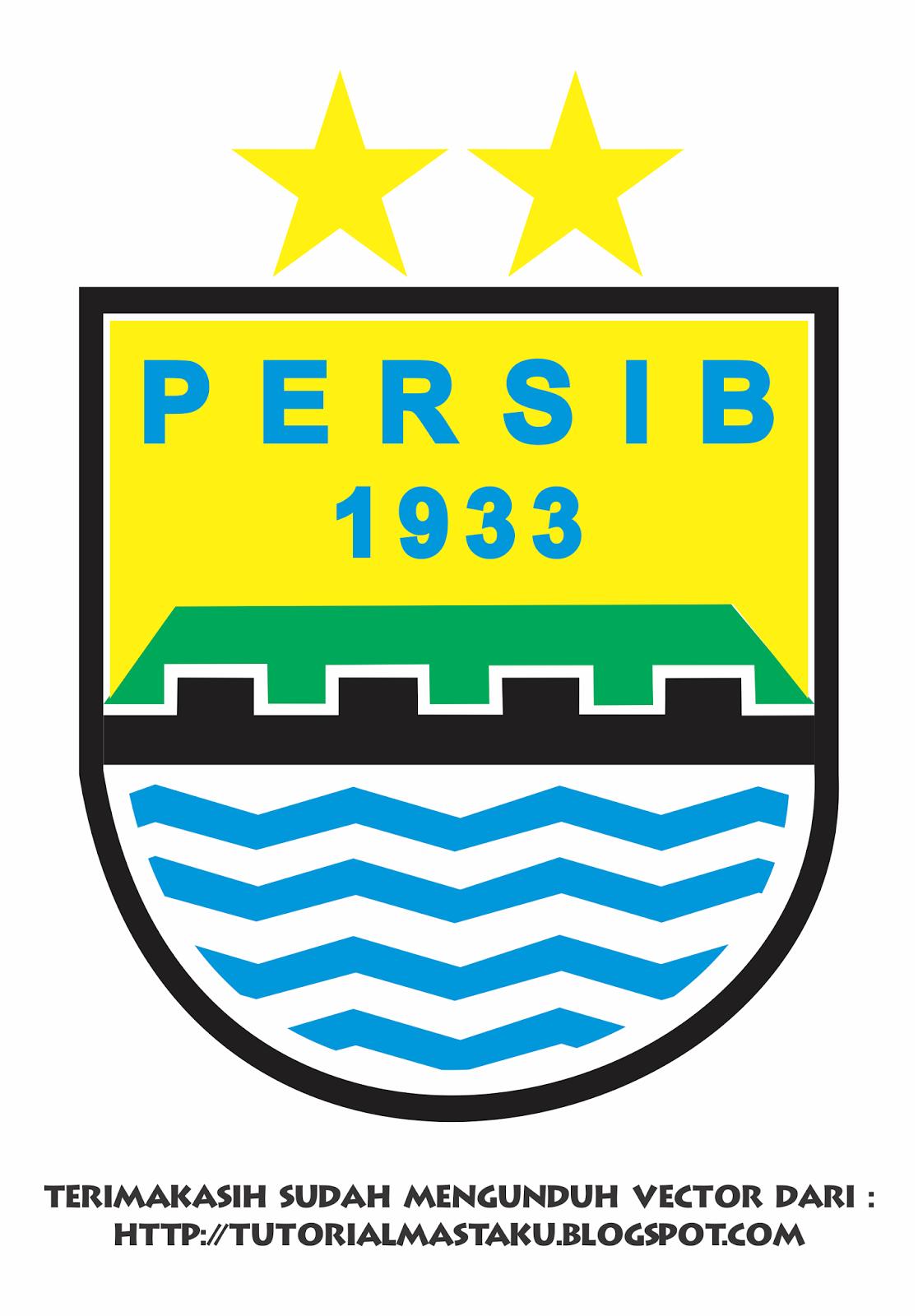 Download Vector Logo Persib Bandung Gratis! - Tutorial Masta