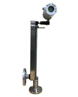 Insertion flow meter for steam, liquids, or gases