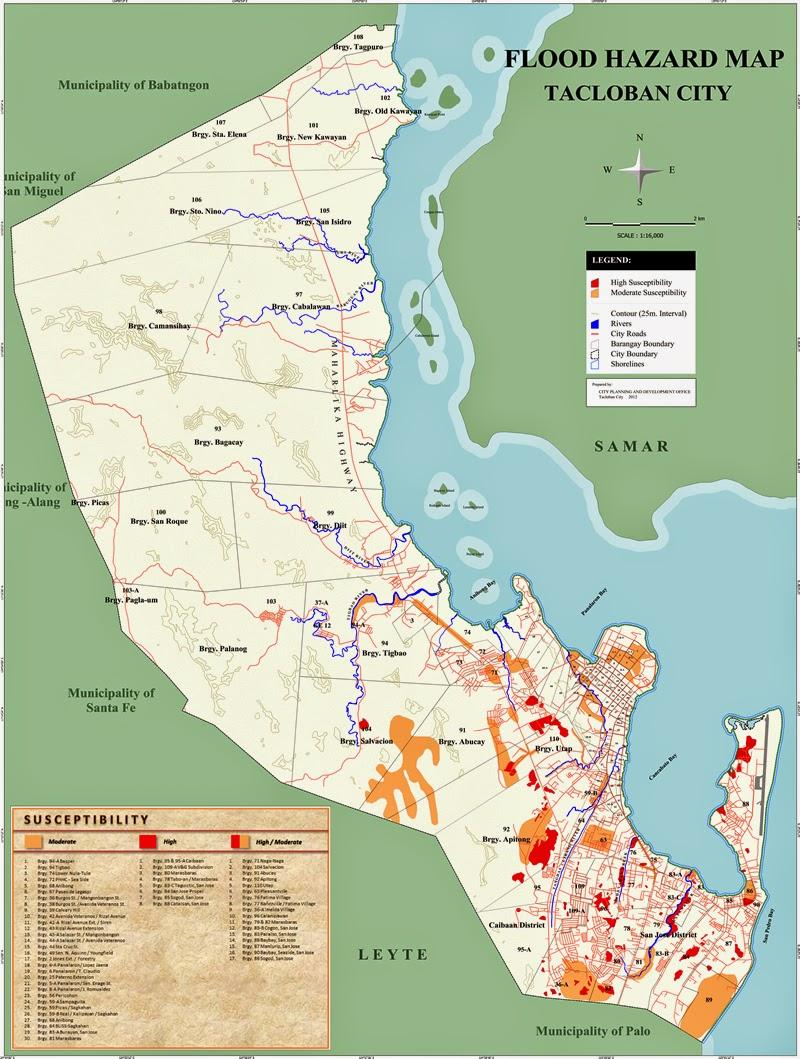 Tacloban Philippines Map.Map Of Tacloban City Eastern Visayas Leomap