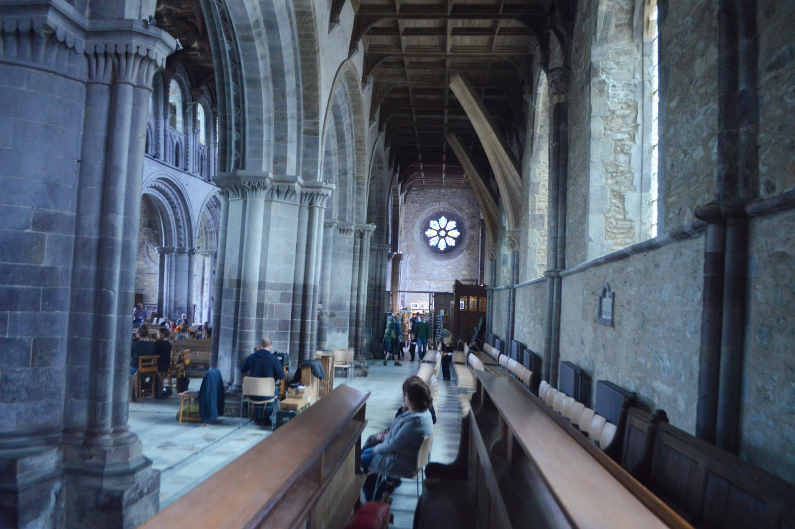 , A Busy Bank Holiday at St Davids Cathedral