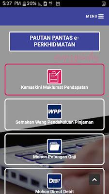 Cara Kemas Kini Pendapatan PTPTN melalui Handphone Anda