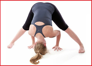 Wide leg forward Bend (Prasarita Padottanasana) Yoga