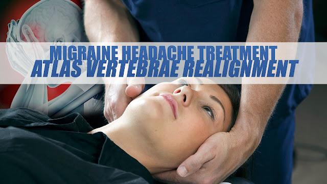 Migraine Headache Treatment: Atlas Vertebrae Realignment