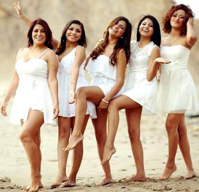 Foto de mujeres de Corazón Serrano 2016 actual