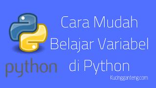 Cara Mudah Belajar Variabel di Python